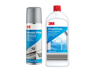 3M Edelstahl-Pflege oder Glasschutz