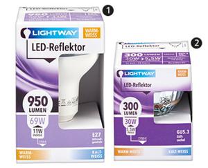 LIGHTWAY®  LED-Reflektor, nicht dimmbar