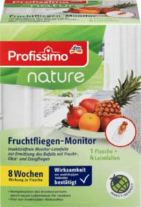 Profissimo Fruchtfliegen-Monitor Set (1 Fl. + 4 Fallen)