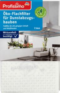Profissimo Öko-Flachfilter für Dunstabzugshauben