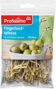 Profissimo Fingerfood-Spieße aus Bambus