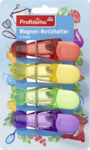 Profissimo Magnet- Notizhalter 4er-Set