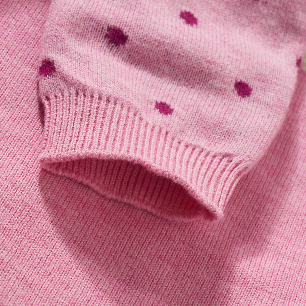 Bild 5 von Baby Strickkleid mit Eulen-Motiv
