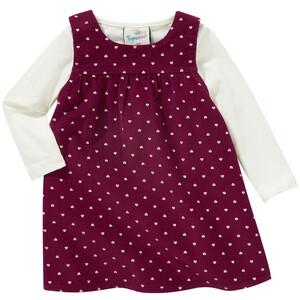Baby Kleid und Langarmshirt im Set