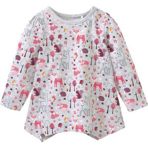 Baby Langarmshirt mit Allover-Print