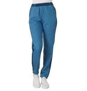 edc             Stoffhose, Jeans-Optik, Gummibund, Kontraststreifen