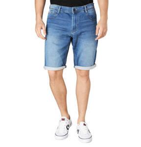 TOM TAILOR             Shorts, Regular Fit, Jeans, Umschlag, Waschung