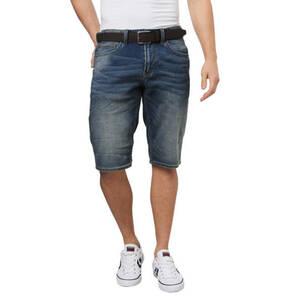 s.Oliver             Jeans-Shorts, Regular Fit, Waschung, Gürtel