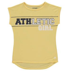 manguun sports             T-Shirt, atmungsaktiv, schnelltrocknend, Print, für Mädchen