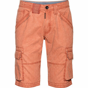 Tom Tailor Cargo-Shorts, Waschung, uni