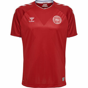 Hummel Dänemark Trikot, Home, WM 2018, für Herren