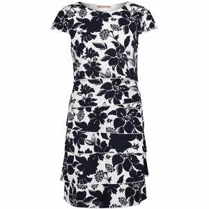 Betty Barclay Damen Kleid Kurzarm, mit Print