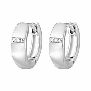 CHRIST Silver Diamonds Creole