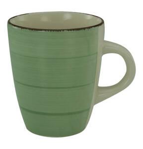 CreaTable             Bella Casa grün Kaffeebecher, 35 cl
