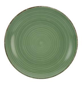 CreaTable             Bella Casa grün Speiseteller, 26,5 cm