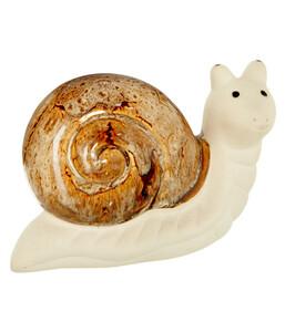 Keramik-Schnecke Willi, glasiert