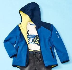 Kids Jungen-Softshelljacke in coolem Design