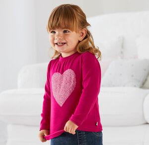 Liegelind Baby-Mädchen-Pullover aus reiner Baumwolle