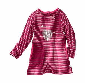 Liegelind Baby-Mädchen-Kleid mit aufgesetzten Taschen
