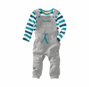 Liegelind Baby-Jungen-Shirt und Latzhose, 2-teilig
