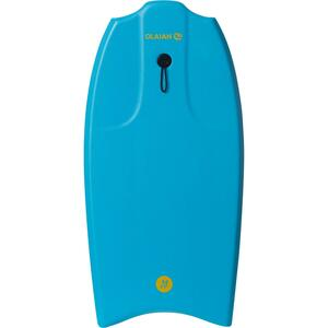 """Bodyboard 100 für Körpergröße 1,45–1,65m 38"""" mit Slick + Leash türkis"""