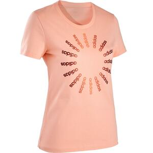 T-Shirt Regular Damen rosa