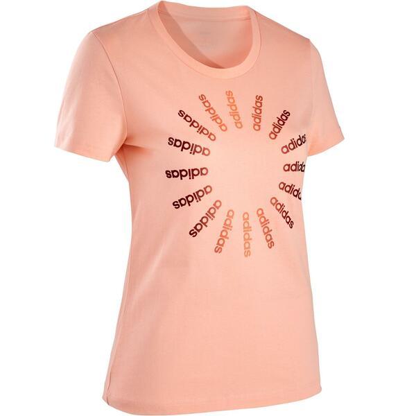 T-Shirt Regular Damen rosa