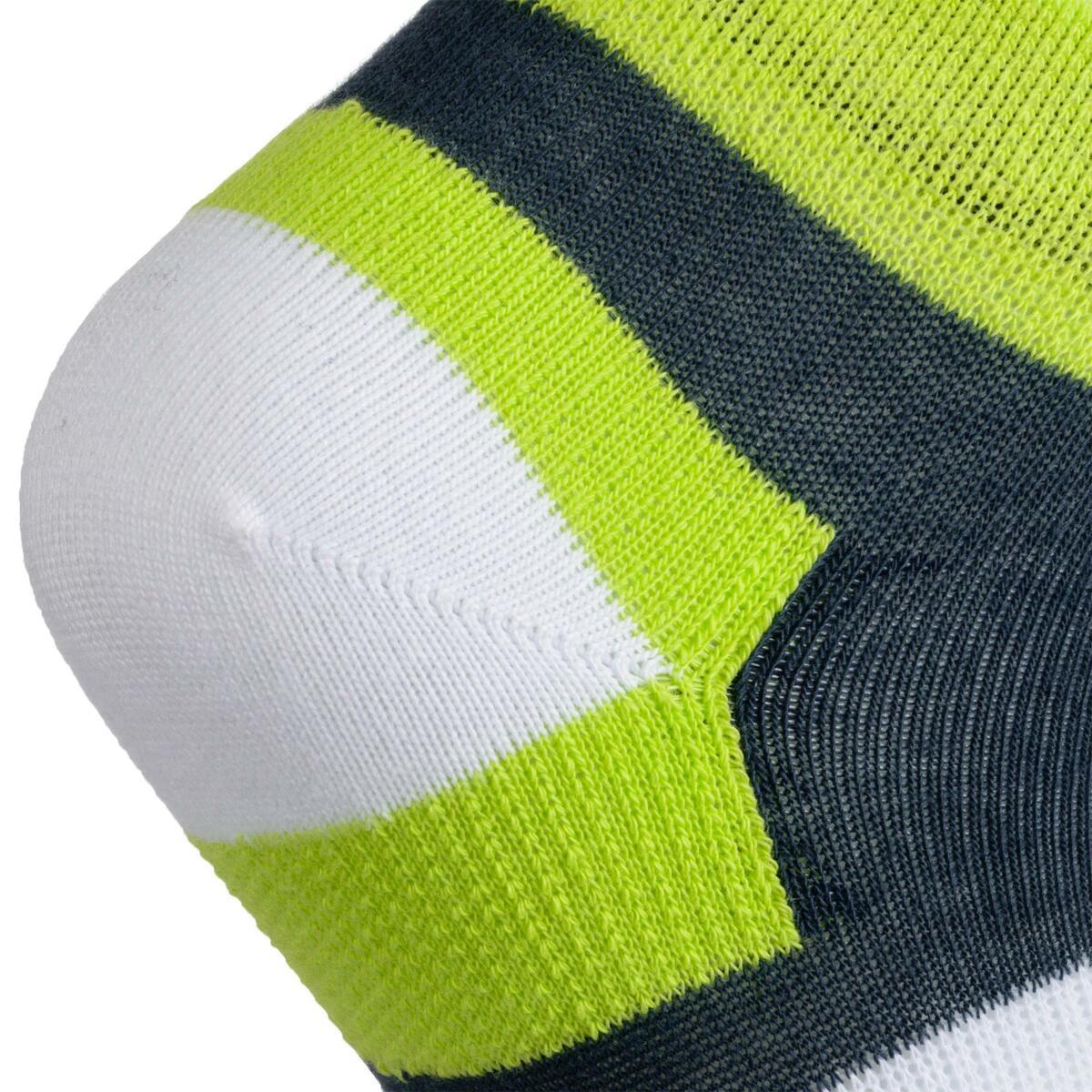 Bild 4 von Tennissocken RS 160 Mid Kinder 3er Pack grau/weiß/gelb