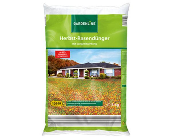 GARDENLINE®  Herbst-Rasendünger