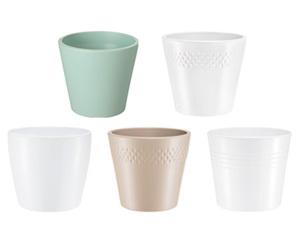 GARDENLINE®  Keramikübertöpfe