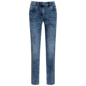 Damen Slim-Jeans im Moon-Washed-Optik