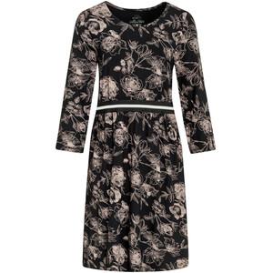Damen Kleid mit Blumen-Muster
