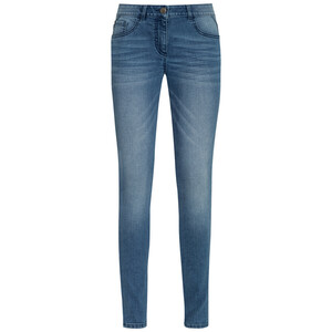 Damen Jeggings mit Used-Waschung