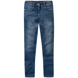 Mädchen Skinny-Jeans mit Used-Waschung