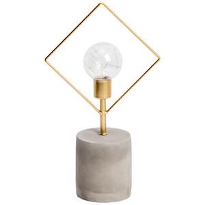 LED-Leuchte mit Betonfuß