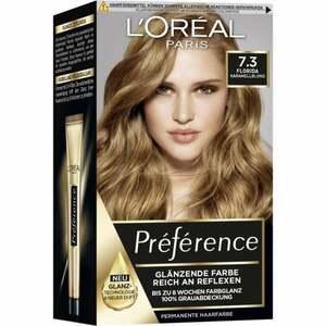 L'Oréal Paris Préférence Coloration 7.3 Florida Karamellblond