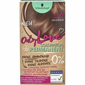 Schwarzkopf Only Love Coloration Permanent Farbe 650 Kakaobraun