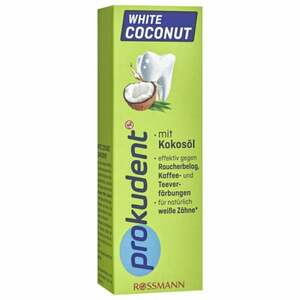 Prokudent White Coconut Zahncreme 1.19 EUR/100 ml