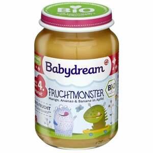 Babydream Bio Fruchtmonster Mango, Ananas & Banane in A 0.39 EUR/100 g (6 x 190.00g)