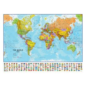 Pinnwand Weltkarte I