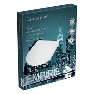 Camargue Empire WC-Sitz