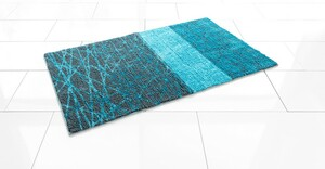Sensino Badteppich Soft Sensation ca. 65x110 cm Wabi Sabi