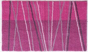 Sensino Badteppich Soft Sensation ca. 65x110 cm Lines Red
