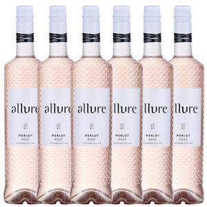 Allure Merlot Rosé 2018 - 6er Karton