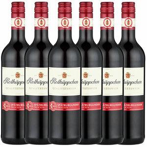 Rotkäppchen Rotwein Spätburgunder trocken - 6er Karton