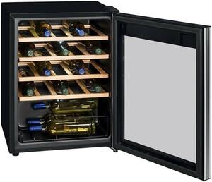 Exquisit WS 124-3 EA Glastür-Weinkühlschrank
