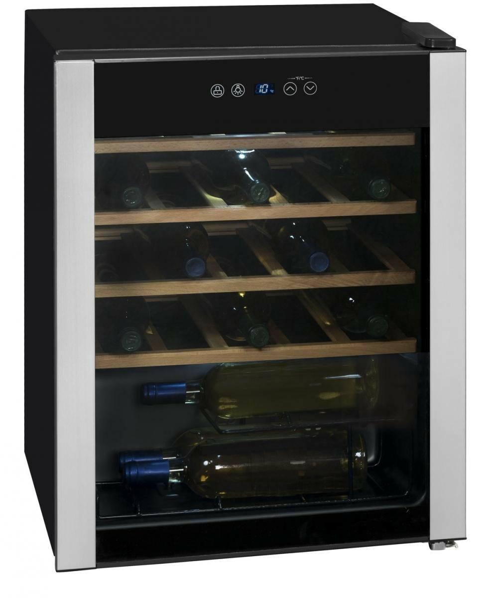Bild 2 von Exquisit WS 124-3 EA Glastür-Weinkühlschrank