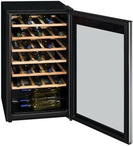Exquisit WS 134-3 EA Glastür-Weinkühlschrank