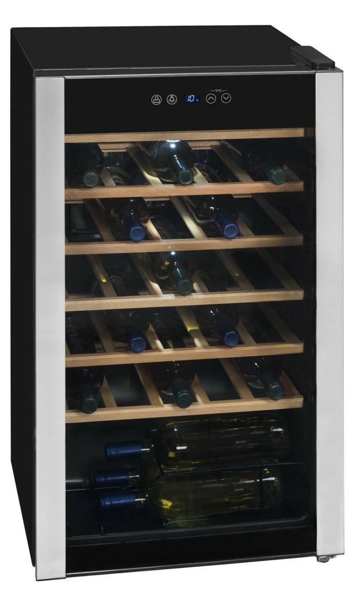 Bild 2 von Exquisit WS 134-3 EA Glastür-Weinkühlschrank