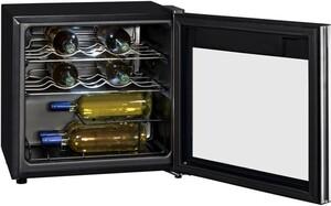 Exquisit WS 116-3 EA Glastür-Weinkühlschrank